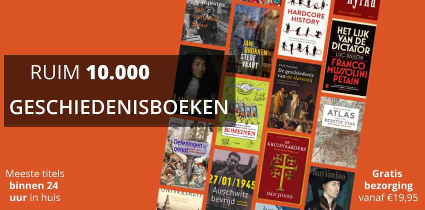 10.000 geschiedenisboeken