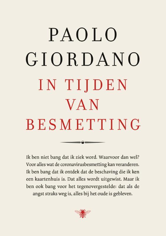 In tijden van besmetting - Paolo Giordano | Geschiedeniswinkel