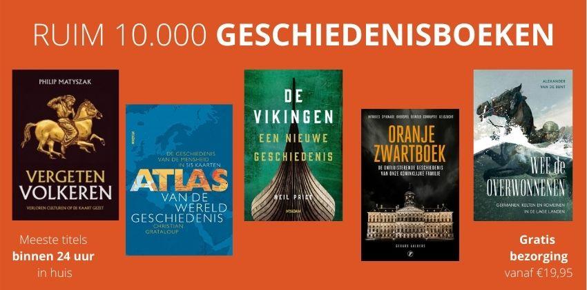 Ruim 10.000 geschiedenisboeken